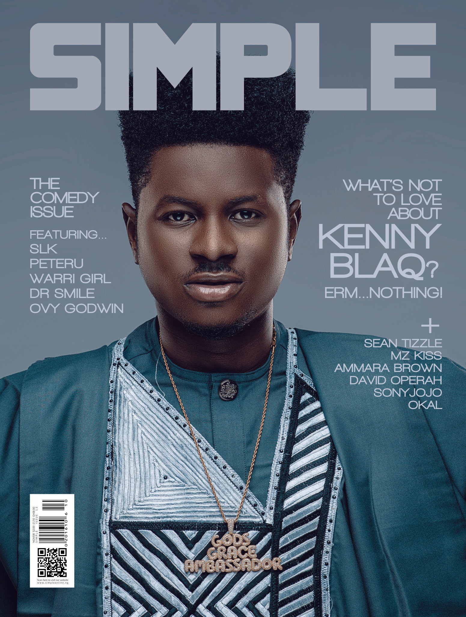 "Photo of KENNYBLAQ COVERS 'SIMPLE MAGAZINE'S LATEST ISSUE, DISCUSSED HIS JOURNEY & HIS EVENT; ""THE OXYMORON OF KENNY BLAQ""."