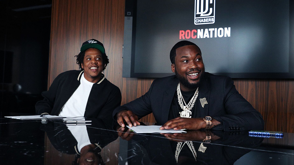 Photo of MEEK MILL PARTNERS WITH JAY-Z'S ROC NATION TO LAUNCH DREAM CHASERS LABEL