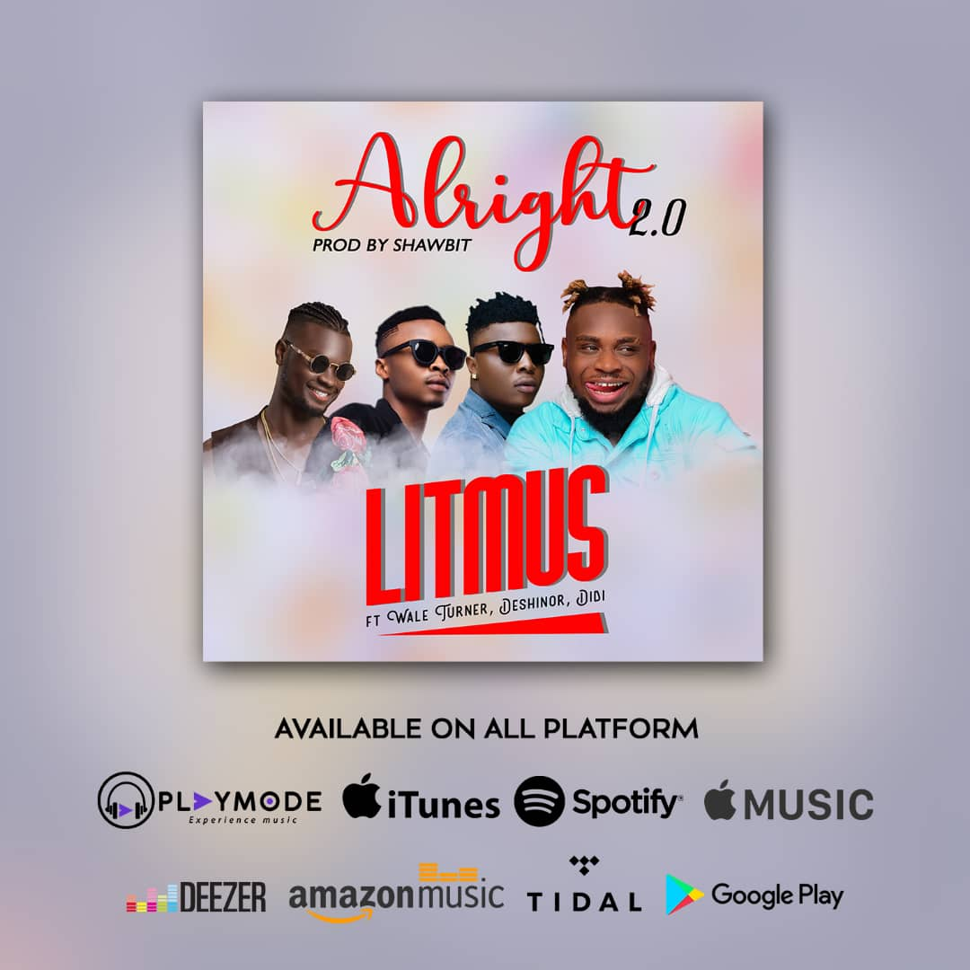 "Photo of LITMUS RELEASE THE NEW HUSTLERS ANTHEM ""ALRIGHT2.0"""