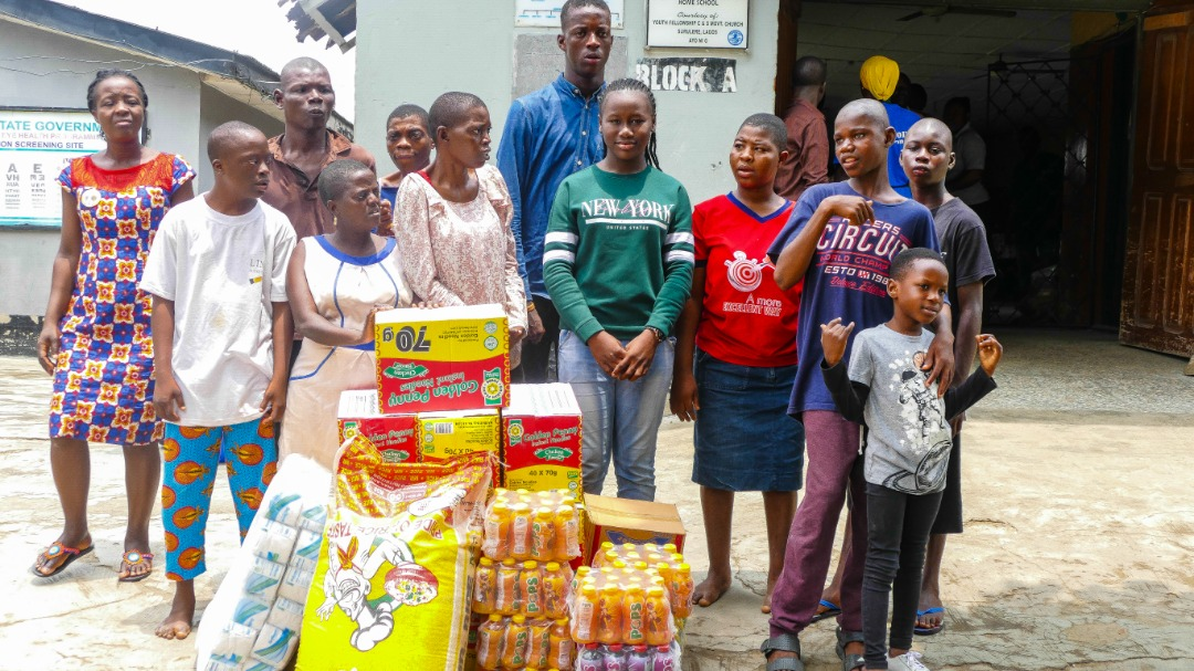 Photo of PHATIAH CELEBRATE HER BIRTHDAY WITH THE LESS PRIVILEGED