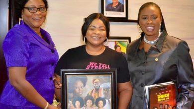 Photo of LAGOS STATE WOMEN AFFAIRS COMMISSIONER ENDORSES DAYO AMUSA'S NEW MOVIE 'OMONIYUN'