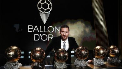 Photo of LIONEL MESSI WINS THE BALLON D'OR FOR A RECORD 6TH TIME