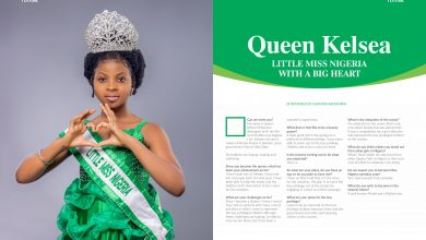 Photo of LITTLE MISS NIGERIA WITH A BIG HEART – QUEEN KELSEA