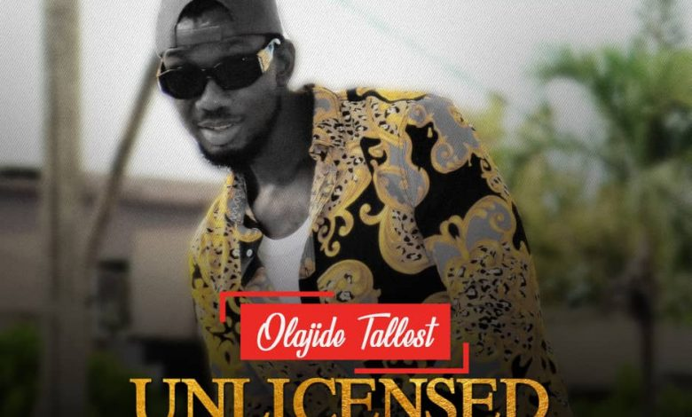 Olajide Tallest Unlicensed Cover EP art