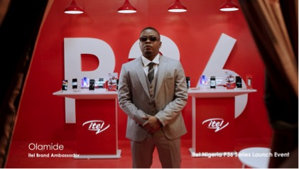 itel MOBILE AND OLAMIDE LAUNCHES ITEL P36 AND P36 PRO IN FIRST VIRTUAL PRODUCT LAUNCH