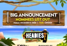 Photo of THE HEADIES IS HERE: SEE THE FULL LIST OF NOMINEES FOR HEADIES AWARDS 2020