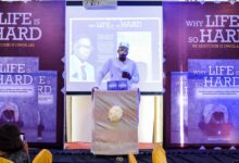 "Photo of Entrepreneur and Realtor, Adetunbi Owolabi launches first book ""Why Life Is So Hard."""