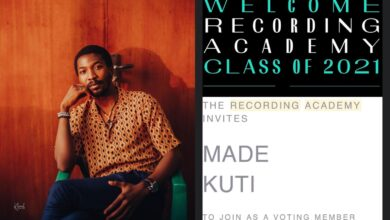 Photo of Made Kuti Joins Recording Academy Class of 2021